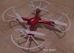 RC Piros  Drón kamerás
