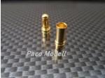 Aranyozott csatlakozó 4mm