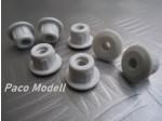 Beépíthető műanyag anya M6 (10 db)