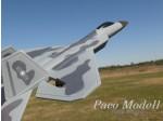 F-22 vadászgép /giroszkóppal/