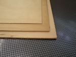 Rétegelt lemez (1 mm)
