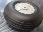Gumi kerék (75 mm, ultrakönnyű)