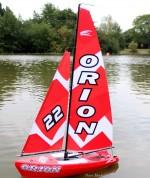Orion RC vitorláshajó (2,4 Ghz)