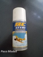 RC Styro spray (fekete)