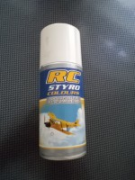 RC Styro spray (fekete)