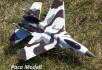 SU-35 vadászgép /giroszkóppal/