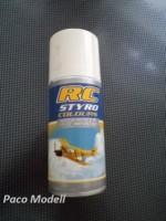 RC Styro spray (fehér)