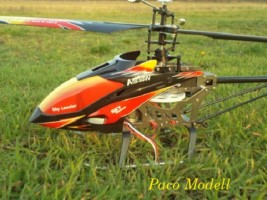Brushless Sky Leader (2,4 GHz, 4ch+2F)