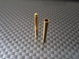 Aranyozott csatlakozó 2mm