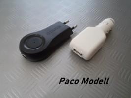 Hálózati + Szivargyújtós USB átalakító
