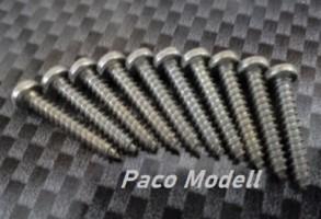 Lemezcsavar (2,5x10 mm)