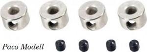 Kerékrögzítő gyűrű 4 mm (4 db)