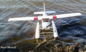 Hidroplán Cessna (RC készlet, 4ch távirányítóval)