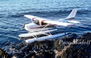 Hidroplán Cessna (beépített elektronikával)