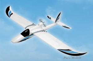 Plane 1400 (KIT brushless motorral)