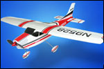 Brushless Cessna 182 rc-modell