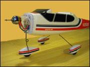 Cessna repülőgép modell