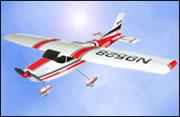 Cessna 182 távirányítós modell